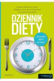 Okładka - Dziennik diety. Szczuplej dzień po dniu! Wydanie 2