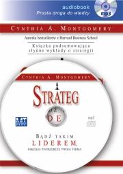 Ok�adka - Strateg. B�d� takim liderem, jakiego potrzebuje twoja firma