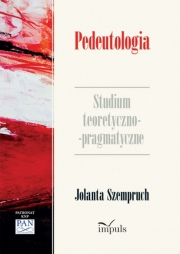 Ok�adka - Pedeutologia. Studium teoretyczno-pragmatyczne