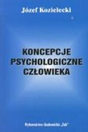 Ok�adka - Koncepcje psychologiczne cz�owieka