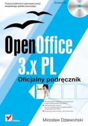 Ok�adka - OpenOffice 3.x PL. Oficjalny podr�cznik