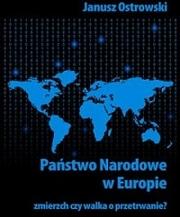 Okładka - Państwo narodowe w Europie. Zmierzch czy walka o przetrwanie?