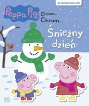 Okładka -  Świnka Peppa. Chrum Chrum. Tom 35. Śnieżny dzień