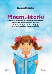 Ok�adka - Mnemoliterki. �wiczenia do wprowadzania i utrwalania liter podobnych pod wzgl�dem kszta�tu