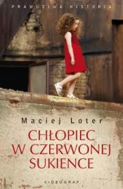 Ok�adka - Ch�opiec w czerwonej sukience