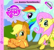 Okładka - Mój kucyk Pony. Najpiękniej jest w Ponyville. Książka i audiobook