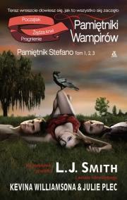 Ok�adka - Pami�tniki wampir�w. Pami�tnik Stefano. tom 1,2,3