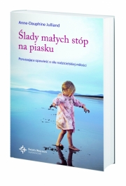 Ok�adka - �lady ma�ych st�p na piasku