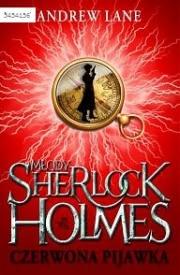 Ok�adka - M�ody Sherlock Holmes - Czerwona Pijawka