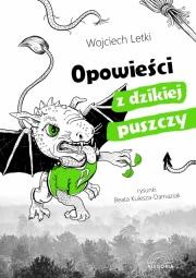 Okładka - Opowieści z dzikiej puszczy