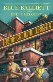 Okładka - Tajemnica domu Wrighta