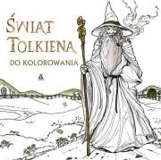 Ok�adka - �wiat Tolkiena do kolorowania