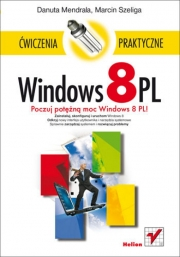 Ok�adka - Windows 8 PL. �wiczenia praktyczne