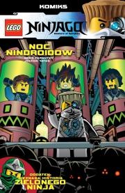 Ok�adka -  Ninjago Komiks. Tom 7. Noc nindroid�w