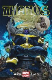 Okładka - Thanos  Thanos powstaje, tom 1