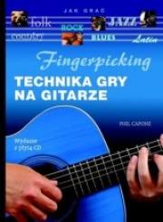 Ok�adka - Fingerpicking. Technika gry na gitarze