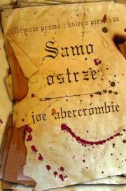 Okładka - Samo Ostrze: Pierwsze Prawo Księga Pierwsza