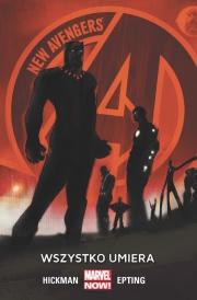 Ok�adka - New Avengers: Wszystko umiera