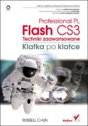 Okładka - Flash CS3 Professional PL. Techniki zaawansowane. Klatka po klatce