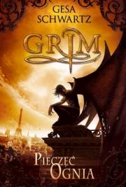 Ok�adka - Grim 1. Piecz�� ognia