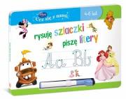 Ok�adka - Disney Ucz si� z nami. Disney Ucz si� z nami. Rysuj� szlaczki pisz� litery