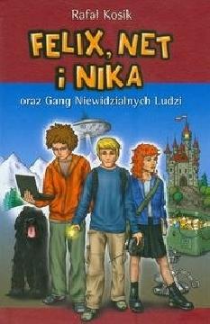 Ok�adka - Felix, Net i Nika oraz Gang Niewidzialnych Ludzi