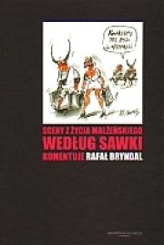 Okładka - Sceny z życia małżeńskiego według Sawki. Komentuje Rafał Bryndal