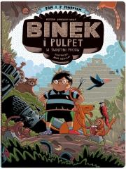 Ok�adka - Binek i Pulpet w �wi�tyni Maj�w