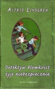 Ok�adka - Detektyw Blomkvist �yje niebezpiecznie