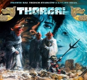 Okładka - Thorgal - Prawie Raj. Trzech Starców z Krainy Aran.  Audiobook