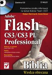 Ok�adka - Adobe Flash CS3/CS3 PL Professional. Biblia
