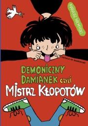 Ok�adka - Demoniczny Damianek, czyli mistrz k�opot�w