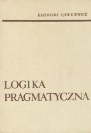 Okładka - Logika pragmatyczna