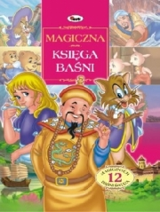 Ok�adka - Magiczna ksi�ga ba�ni