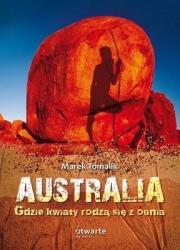 Ok�adka - Australia. Gdzie kwiaty rodz� si� z ognia