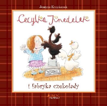 Ok�adka - Cecylka Knedelek i fabryka czekolady