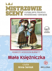 Ok�adka - Ma�a ksi�niczka.  Audiobook