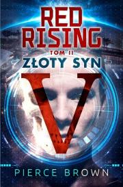 Ok�adka - Red Rising. Z�oty Syn