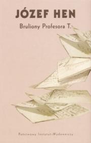 Ok�adka - Bruliony profesora T.