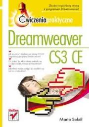 Ok�adka - Dreamweaver CS3 CE �wiczenia praktyczne