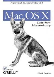 Ok�adka - Mac OS X. Leksykon kieszonkowy