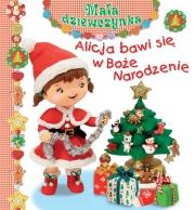 Ok�adka - Alicja bawi si� w Bo�e Narodzenie