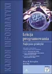 Ok�adka - Lekcja programowania. Najlepsze praktyki