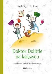Okładka - Doktor Dolittle na Księżycu