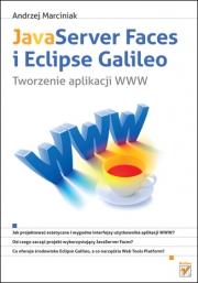 Okładka - JavaServer Faces i Eclipse Galileo. Tworzenie aplikacji WWW