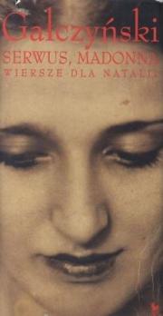 Okładka - Serwus, Madonna. Wiersze dla Natalii