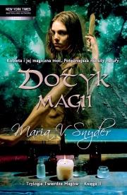 Okładka - Dotyk magii