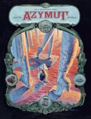 Okładka - Azymut. Tom 3. Antropotamy Nihilu