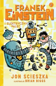 Ok�adka - Franek Einstein i elektryczny palec