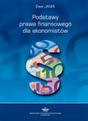 Okładka - Podstawy prawa finansowego dla ekonomistów